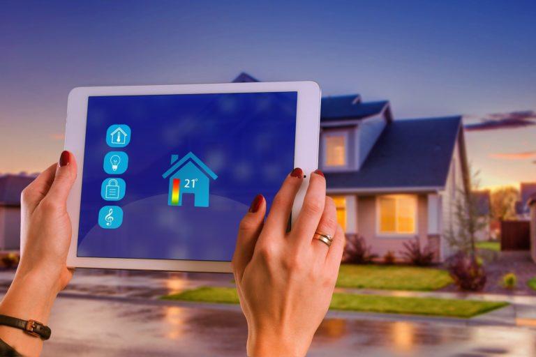 thermostat connecté domotique