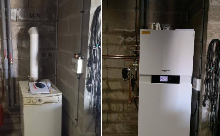 Installation d'une PAC air/eau à Bethisy St-Martin (60)
